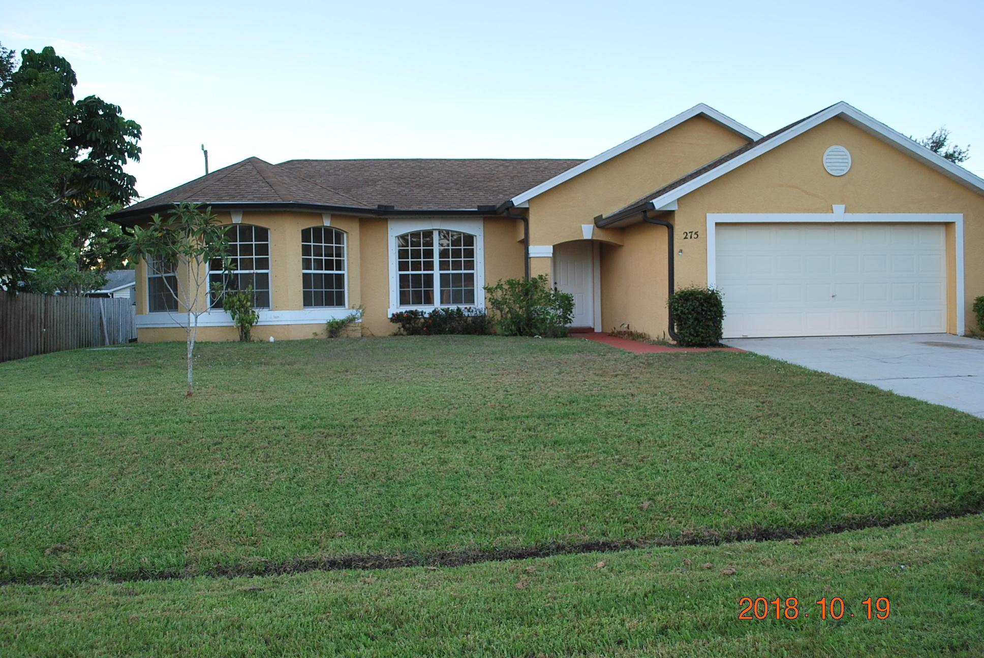275 Sw Christmas Terrace, Port Saint Lucie, FL 34984