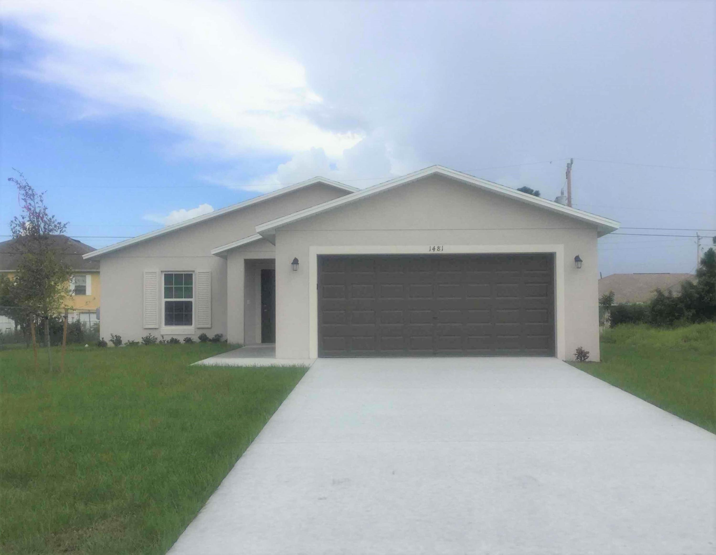 1481 Sw Kamchatka Avenue, Port Saint Lucie, FL 34953