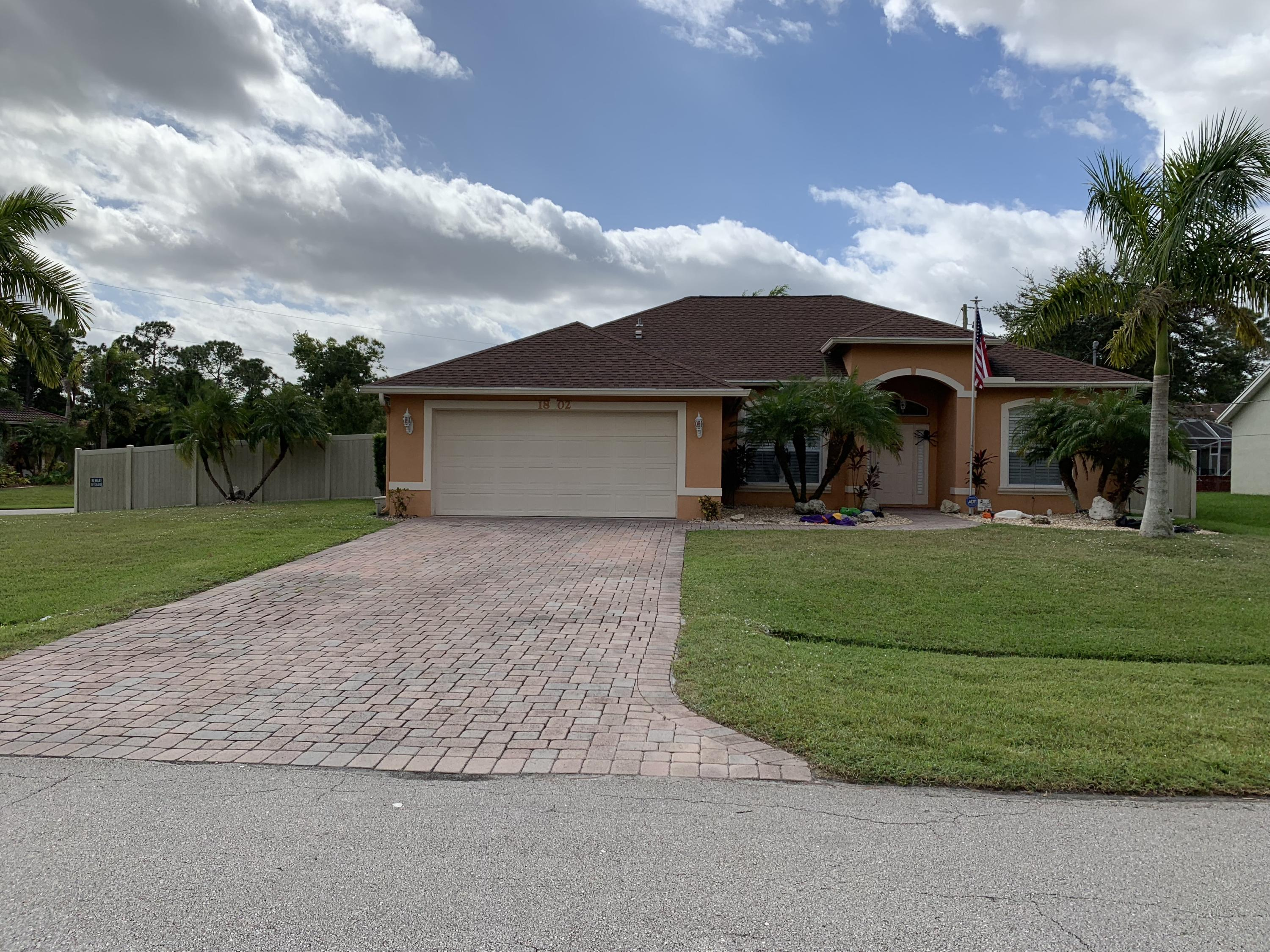 1802 Sw Altman Avenue, Port Saint Lucie, FL 34953