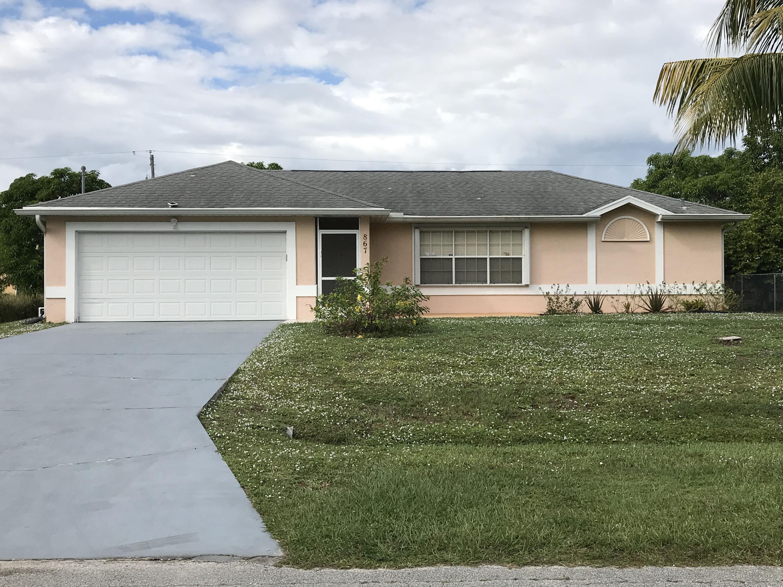 867 Sw Amethist Terrace, Port Saint Lucie, FL 34953