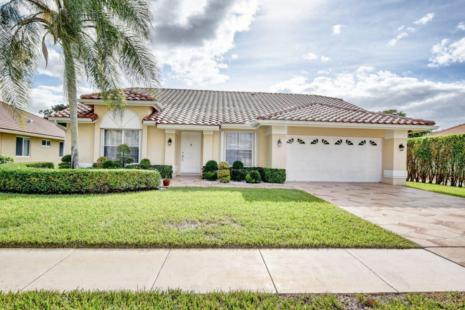 10496 Milburn Lane, Boca Raton, FL 33498