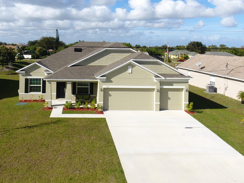 451 Sw Feldman Avenue, Port Saint Lucie, FL 34953