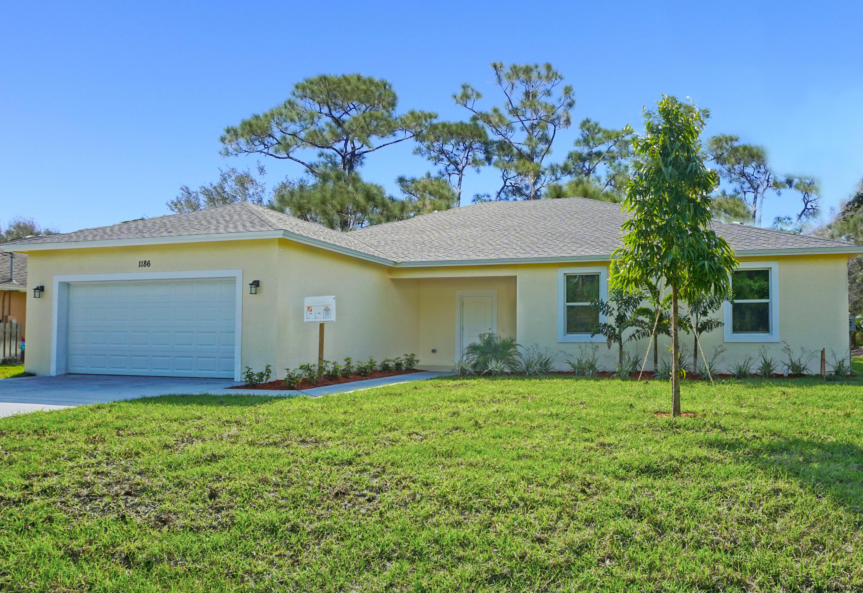 1186 Sw Hunnicut Avenue, Port Saint Lucie, FL 34953