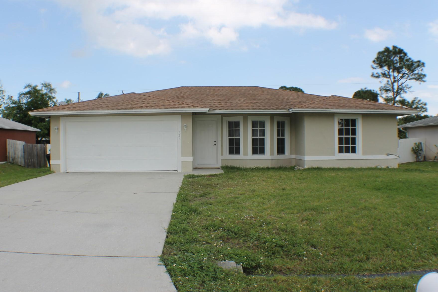 327 Nw Byron Street, Port Saint Lucie, FL 34983