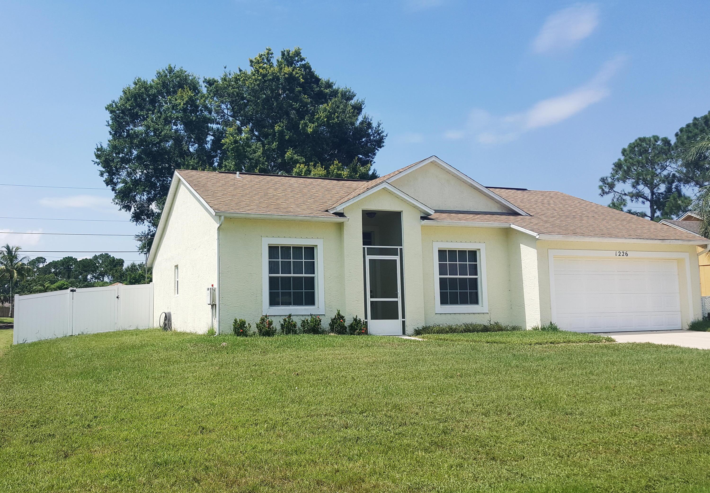 1226 Sw Century Avenue, Port Saint Lucie, FL 34953