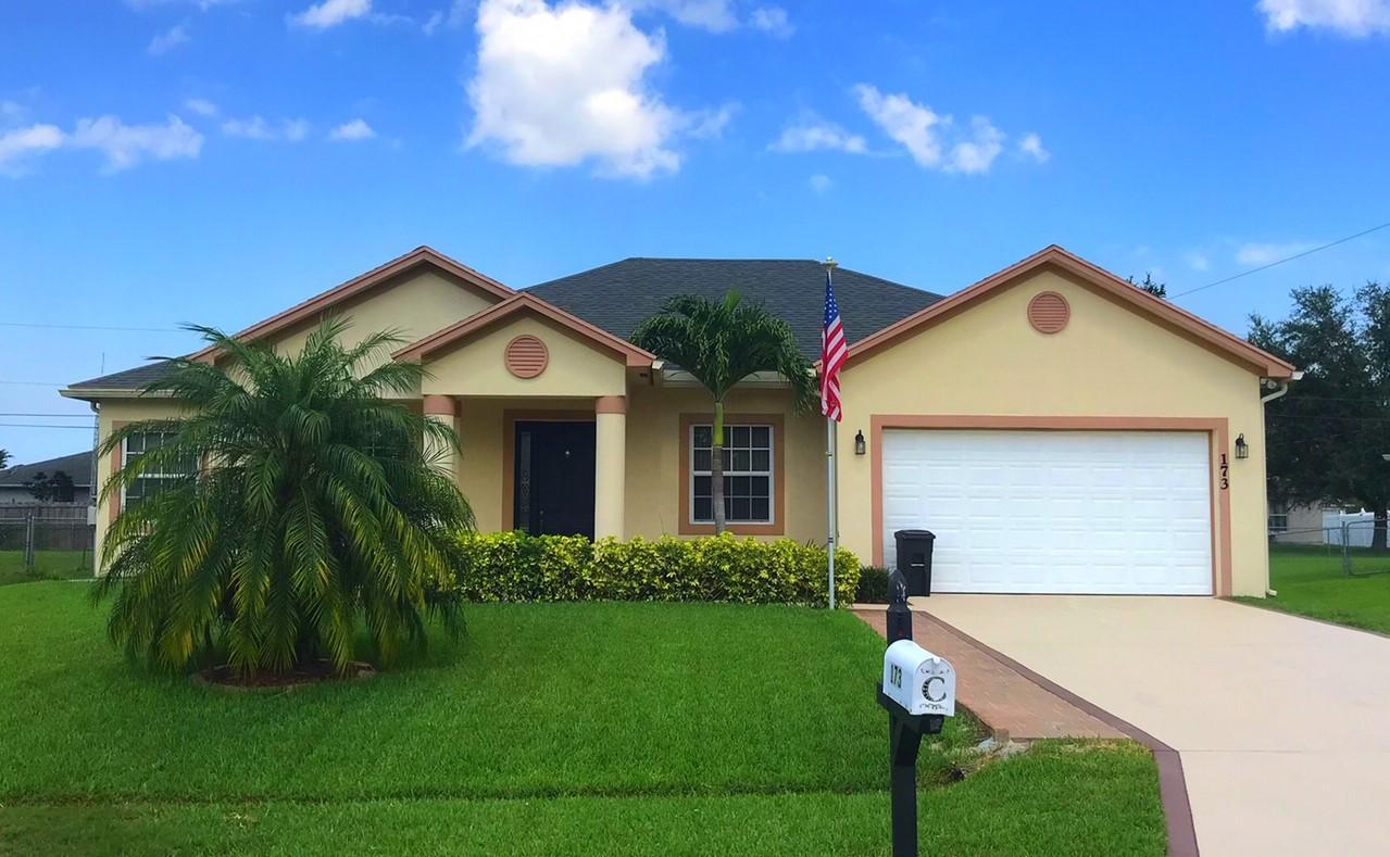 173 Nw Peach Street, Port Saint Lucie, FL 34983