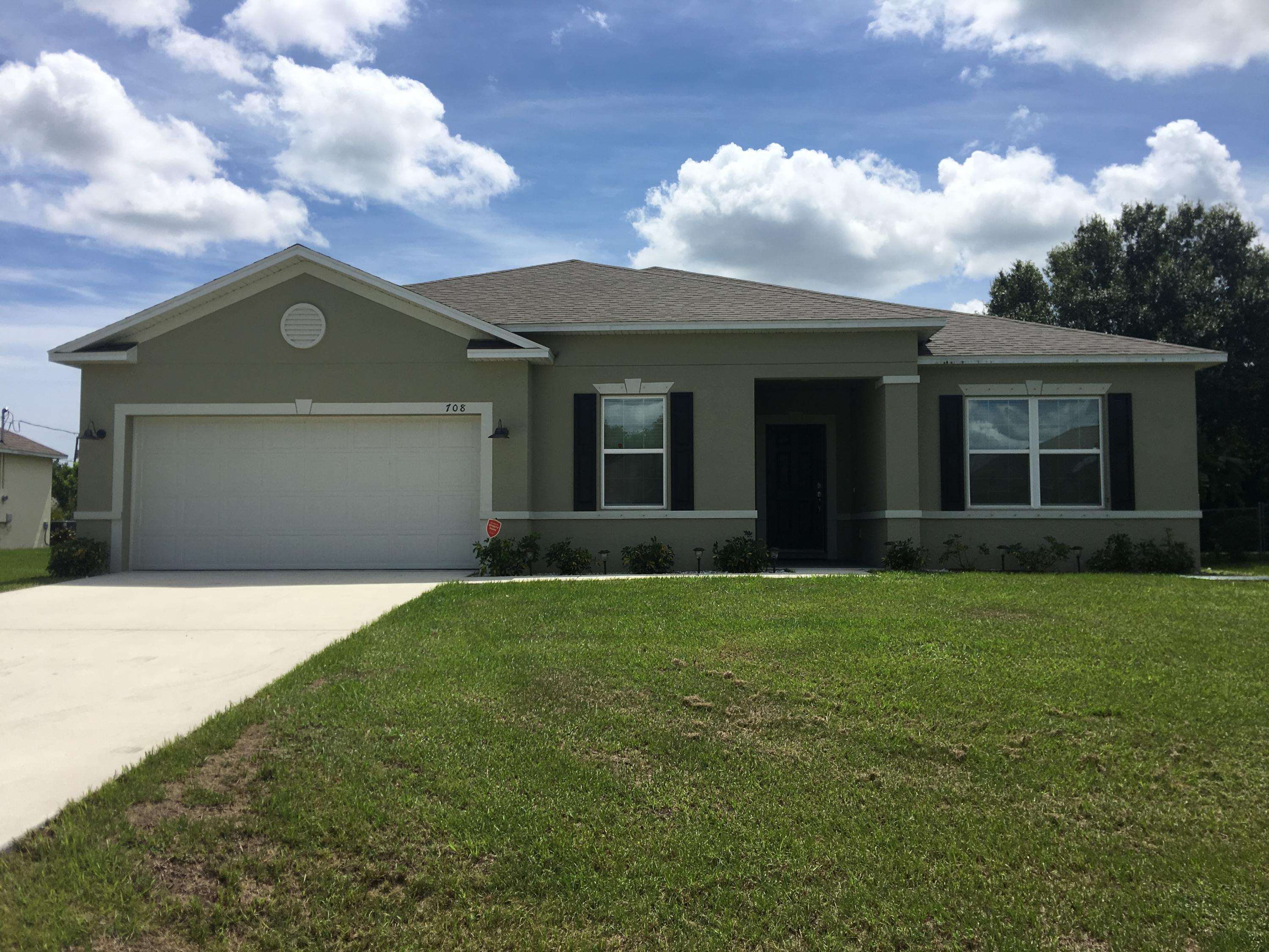 708 Sw Andrew Road, Port Saint Lucie, FL 34953