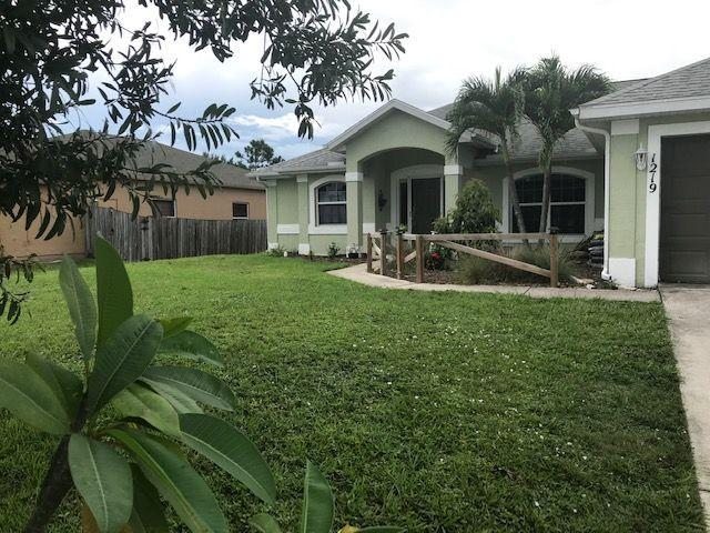 1219 Sw Janette Avenue, Port Saint Lucie, FL 34953