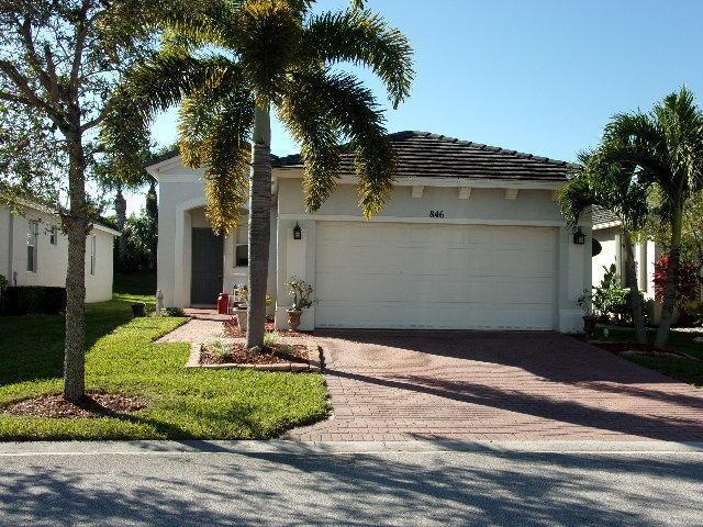 846 Sw Rocky Bayou Terrace, Port Saint Lucie, FL 34986