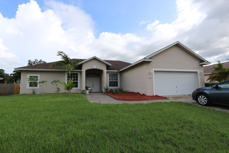1242 Sw Marmore Avenue, Port Saint Lucie, FL 34953