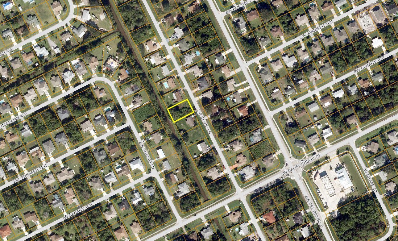 0 Sw Idaho Lane, Port Saint Lucie, FL 34953