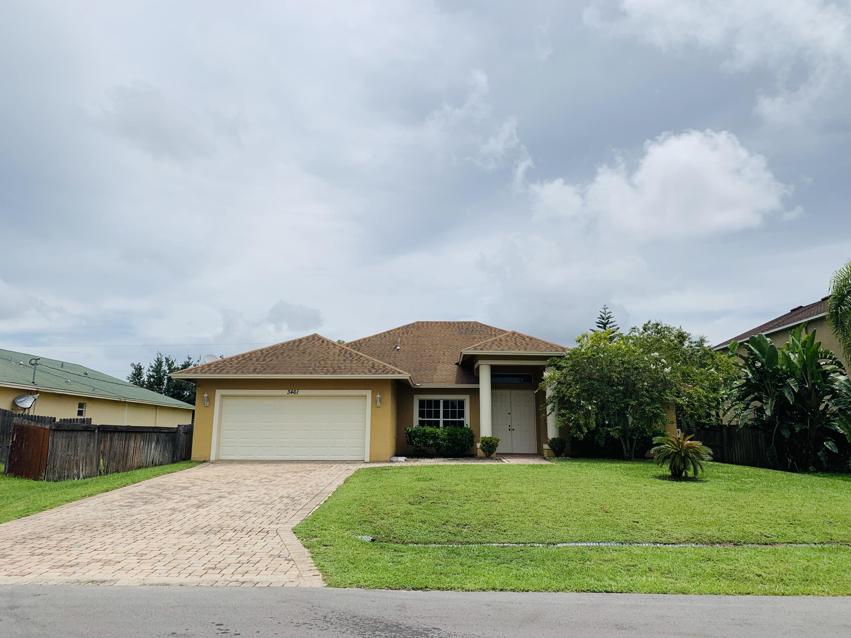 3461 Sw Ronald Street, Port Saint Lucie, FL 34953