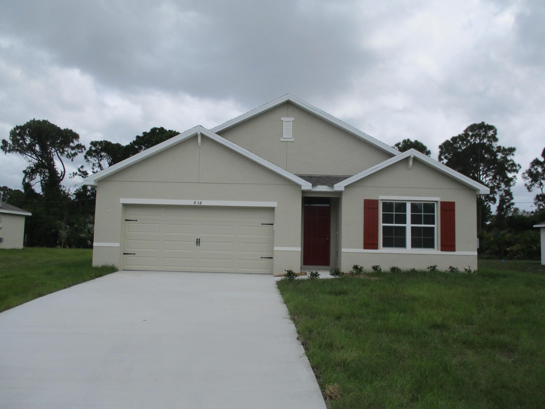 838 Sw Jennifer Terrace, Port Saint Lucie, FL 34953