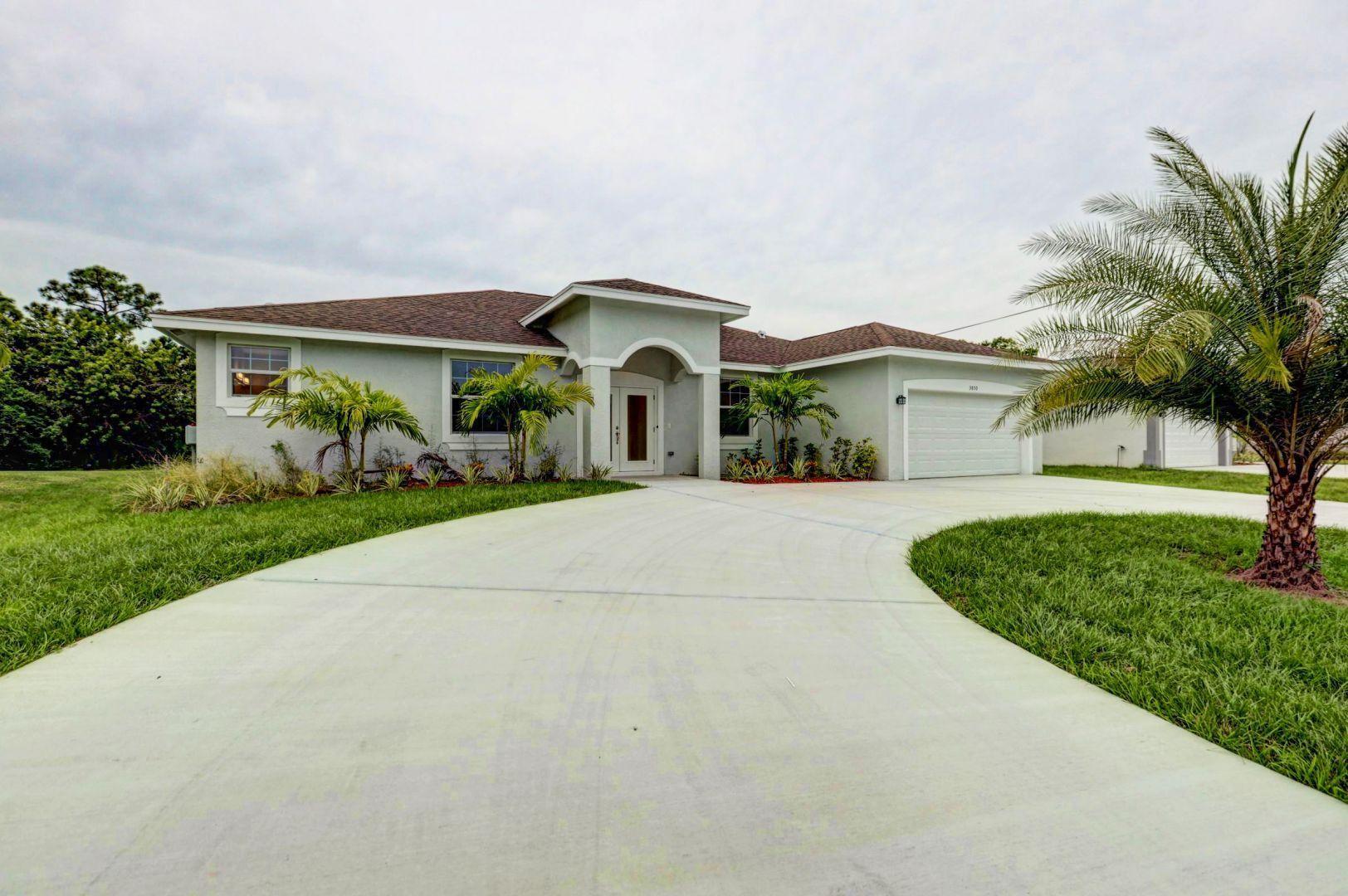 3850 Sw Bamberg Street, Port Saint Lucie, FL 34953