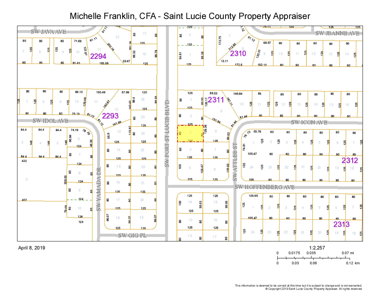 4349 Sw Port St Lucie Boulevard, Port Saint Lucie, FL 34953