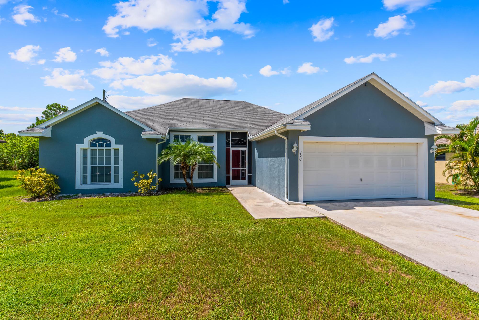 398 Sw Ridgecrest Drive, Port Saint Lucie, FL 34953