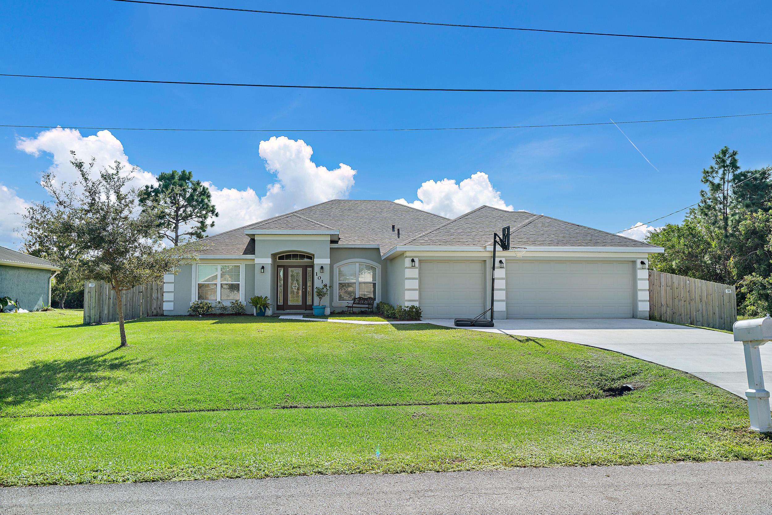 1018 Sw Jericho Avenue, Port Saint Lucie, FL 34953