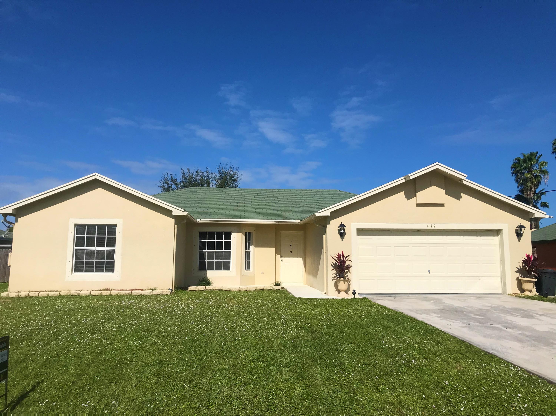 419 Nw Kilpatrick Avenue, Port Saint Lucie, FL 34983