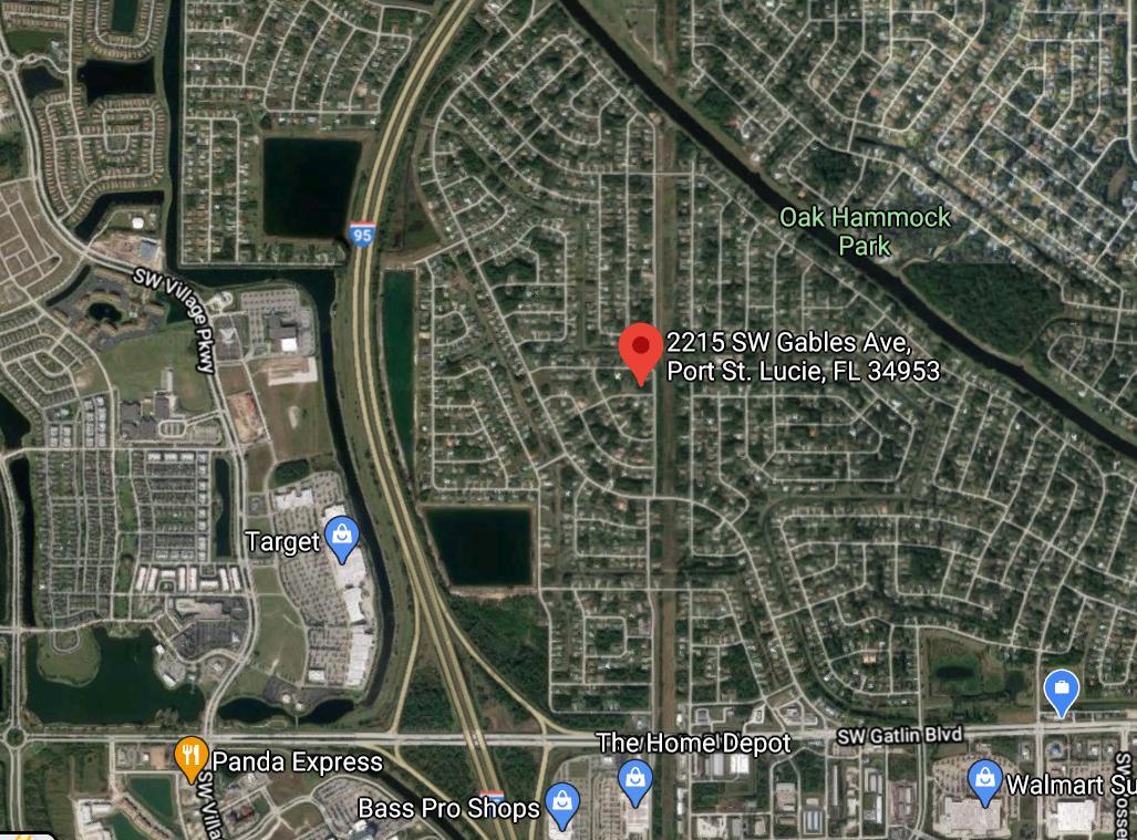 2215 Sw Gables Avenue, Port Saint Lucie, FL 34953