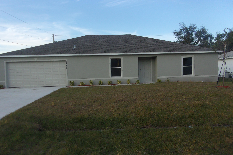 1081 Sw Spataro Avenue, Port Saint Lucie, FL 34953
