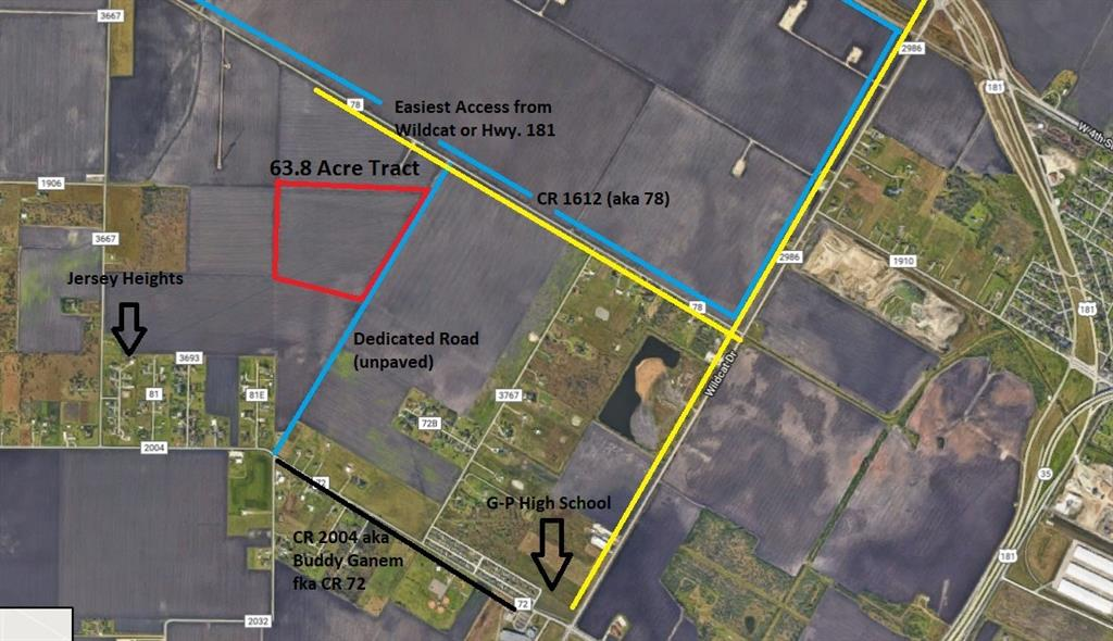 0000 County Rd 3667 Off Cr 1612, Gregory, TX 78359