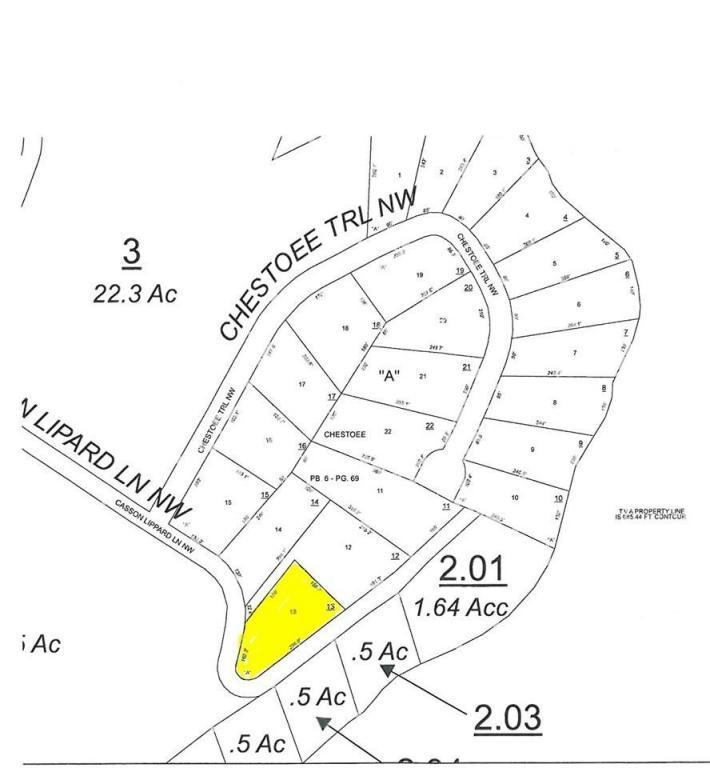 Lot 13 Casson Lippard Ln 13, Georgetown, TN 37336