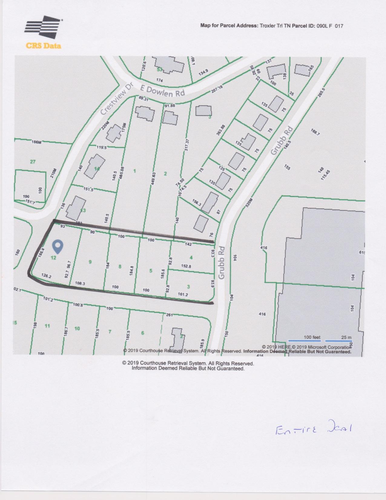 0 Gubb / Troxler Trl, Hixson, TN 37343