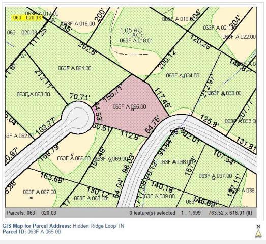 16 Hidden Ridge Loop Lot 16, Dunlap, TN 37327