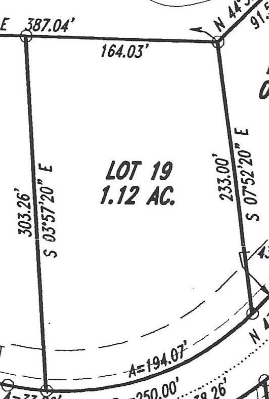Lot 19 Turkey Run, Flintstone, GA 30725