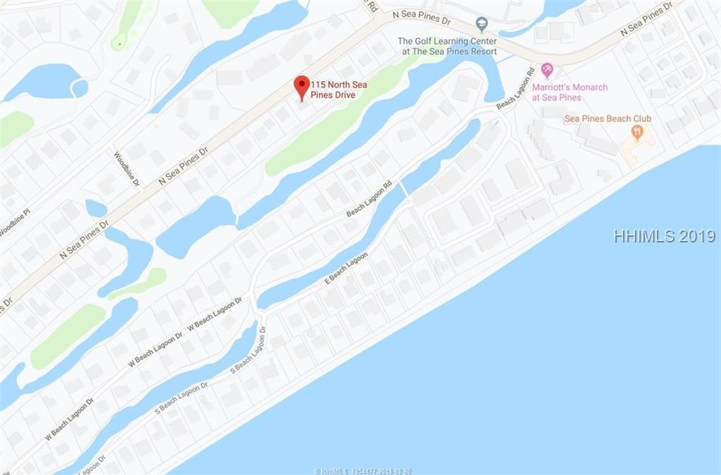 115 N Sea Pines Drive, Hilton Head Island, SC 29928