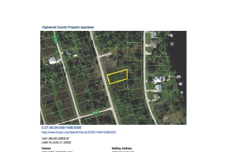 1041 Wildflower St, Lake Placid, FL 33852