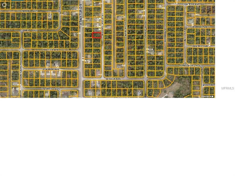 Russellville St, North Port, FL 34288