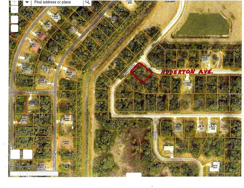 Adderton Ave, North Port, FL 34288