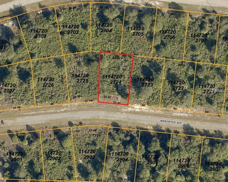 6156 (lot 24) Mangrove Ave, North Port, FL 34288