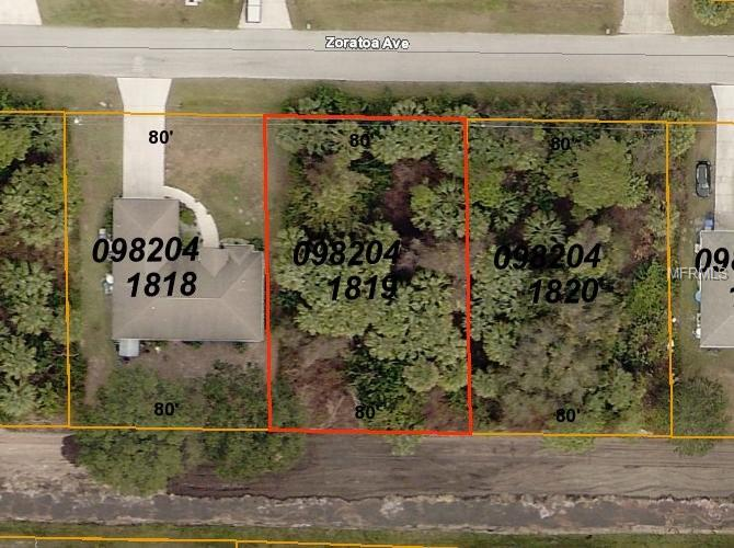 Zoratoa Ave, North Port, FL 34286