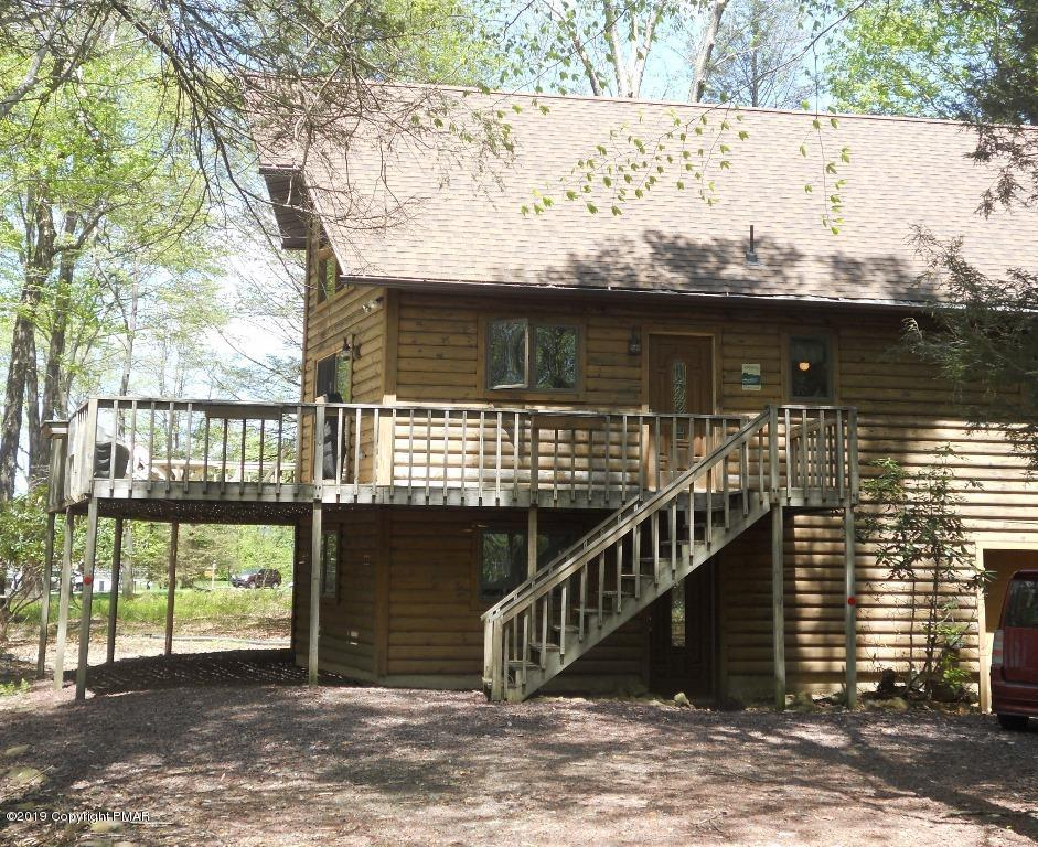 cabins poconos the great rental lakefront vacation a trails pocono property towamensing cabin escape