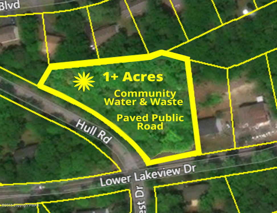 Lot # 86 Woodcrest & Lower Lakeview Dr, East Stroudsburg, PA 18302