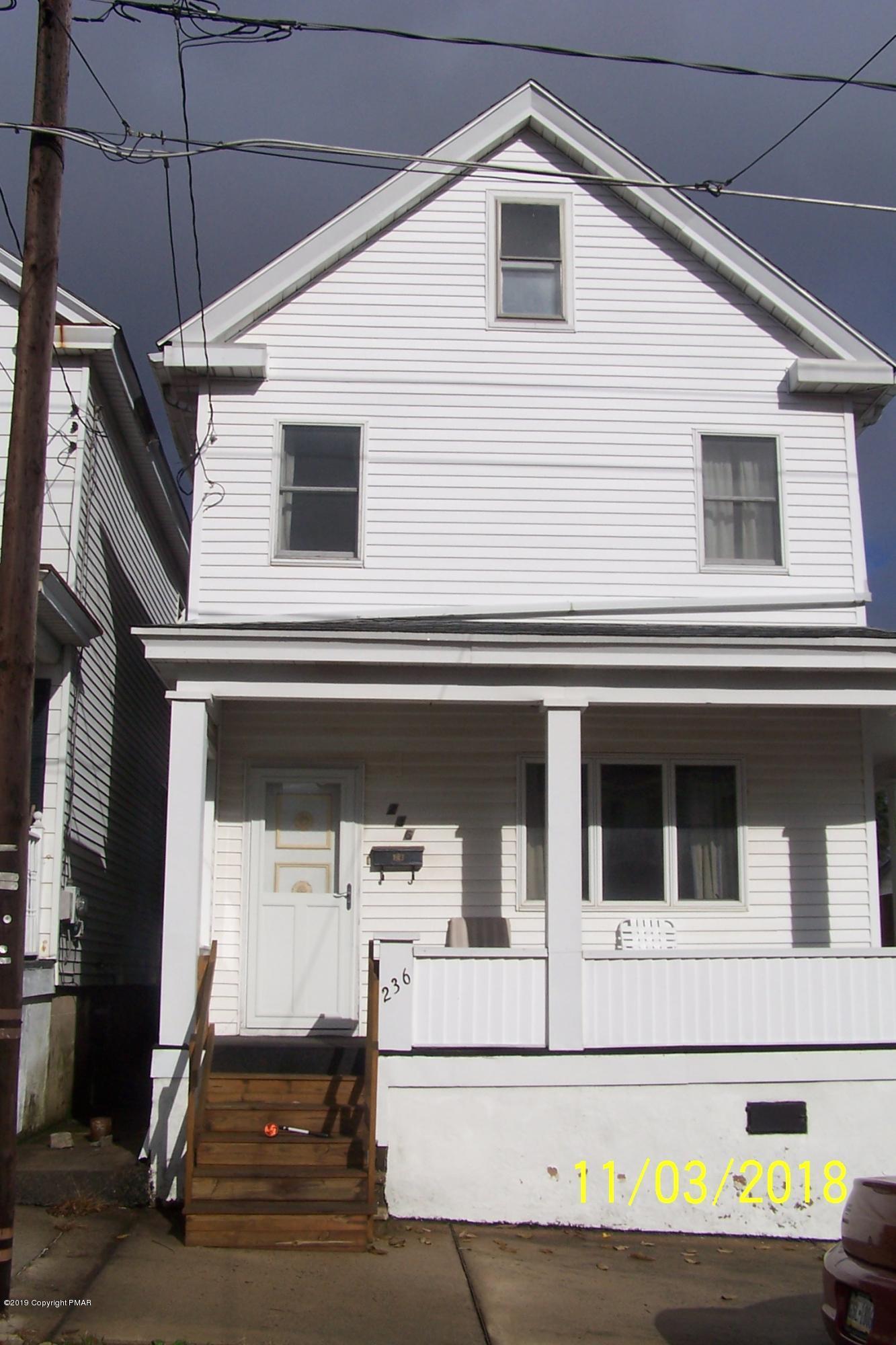 236 E Fell St, Summit Hill, PA 18250