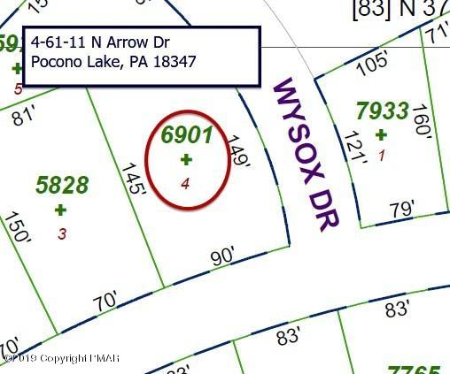 4-61-11 N Arrow Dr, Pocono Lake, PA 18347