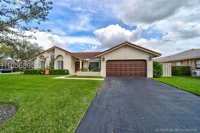 71 Sw 112th Ter, Coral Springs, FL 33071