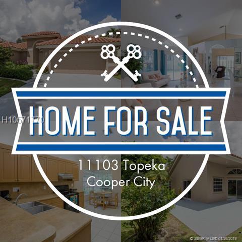 11103 Topeka Pl, Cooper City, FL 33026