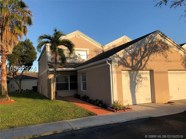 1445 Nw 124th Ave, Pembroke Pines, FL 33026