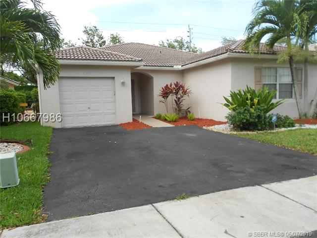 11917 Sw 17th Court, Miramar, FL 33025