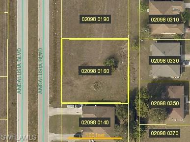 1305 Andalusia Blvd, Cape Coral, FL 33909