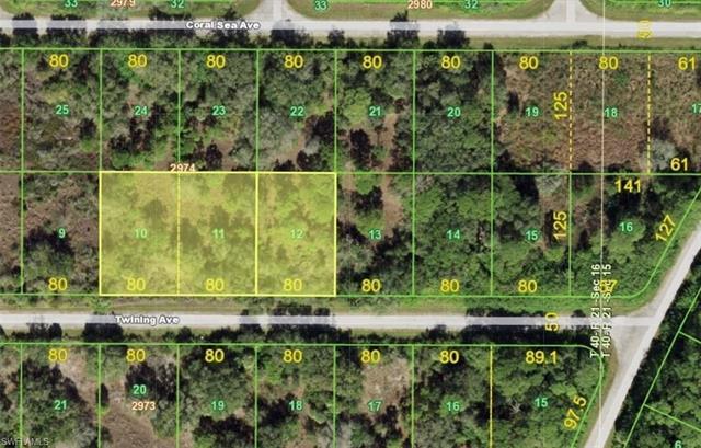 14488, 14496, & 14504 Twining Ave, Port Charlotte, FL 33953