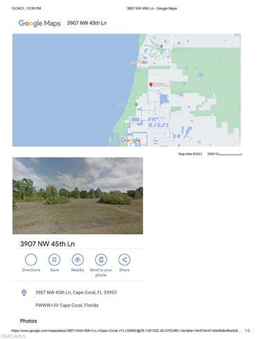 3907 Nw 45th Ln, Cape Coral, FL 33993