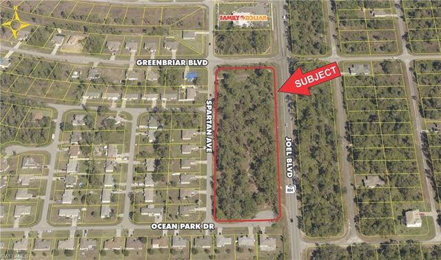 Lot 2 - Joel Blvd, Lehigh Acres, FL 33972