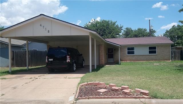4718 S 6th, Abilene, TX 79605