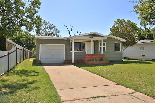 1409 Fannin Street, Abilene, TX 79603