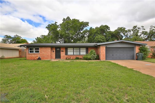 1618 Glenwood Drive, Abilene, TX 79605